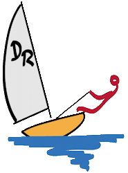 Dinghy Race Logo
