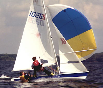 using the spinnaker